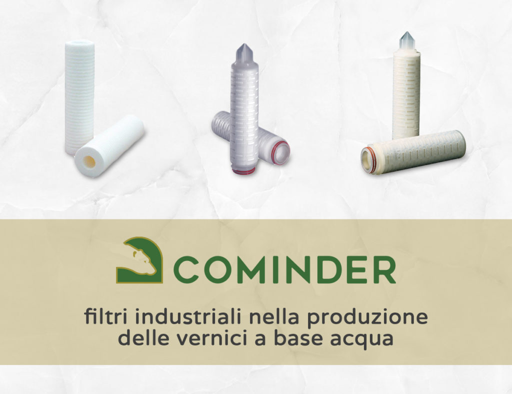 I filtri industriali nella produzione delle vernici a base acqua