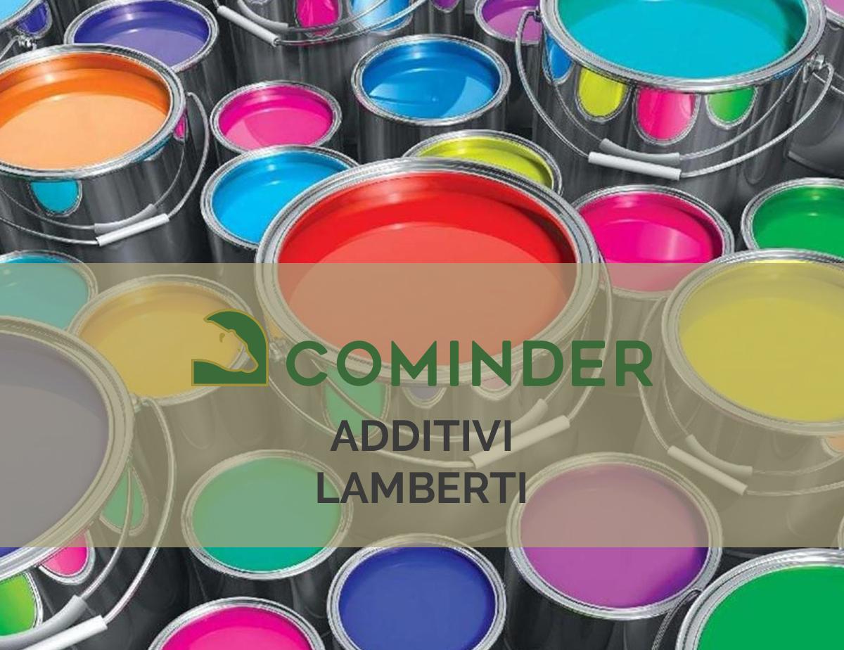 Cominder distribuisce additivi Lamberti sul mercato