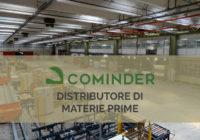 Cominder srl è distributore di materie prime per l'industria