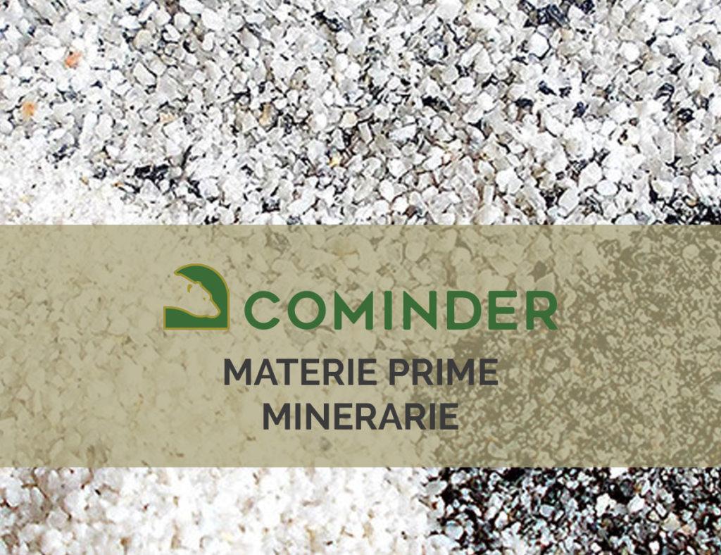 Materie prime minerarie, i servizi offerti da Cominder
