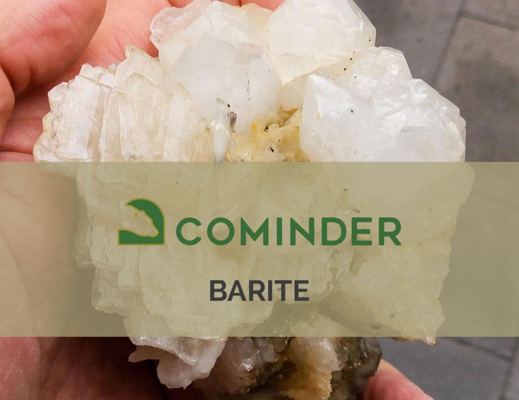 Barite, un minerale dai molteplici utilizzi